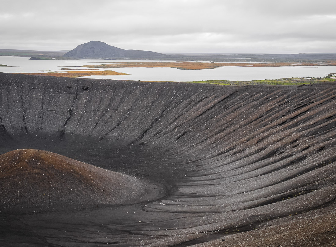 anna rusilko fotografia photography islandia iceland krater Hverfjall wulcam crater volcano