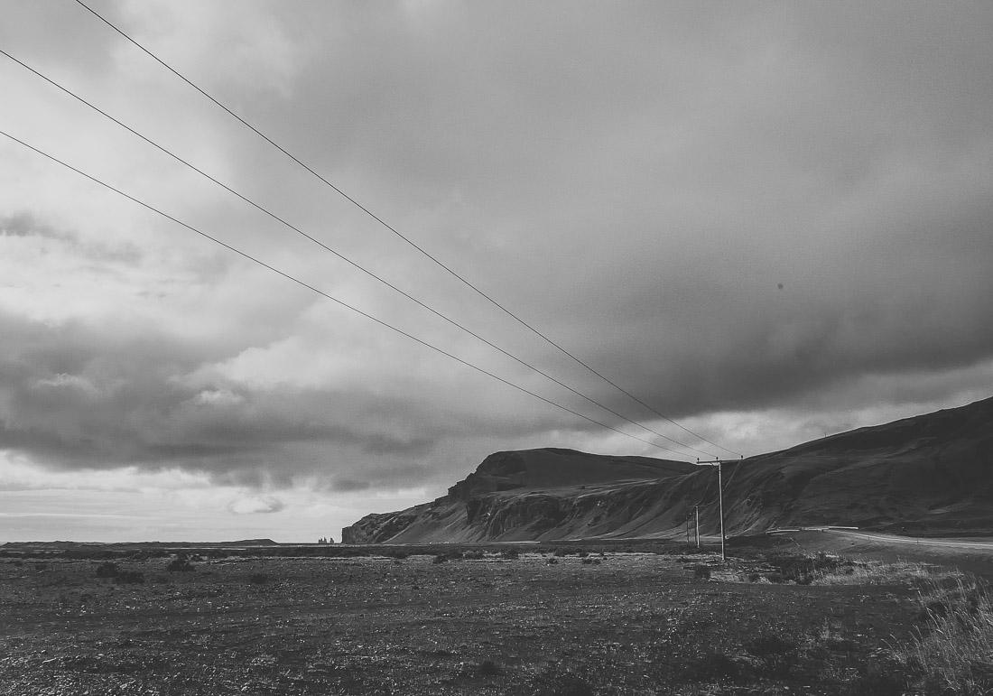 anna rusilko fotografia photography islandia iceland plaża reynisfjara czarno-białe