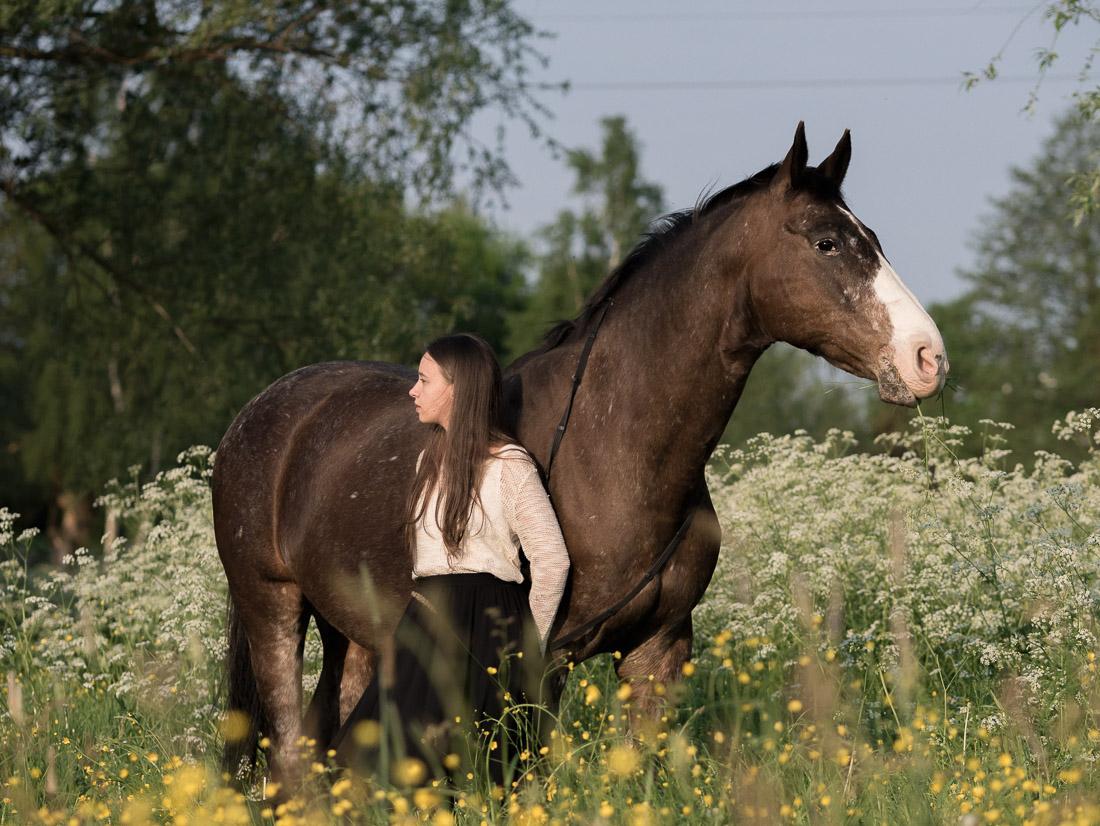 anna rusilko fotografia photography koń ser laser modelka marcelina horse nieszawka
