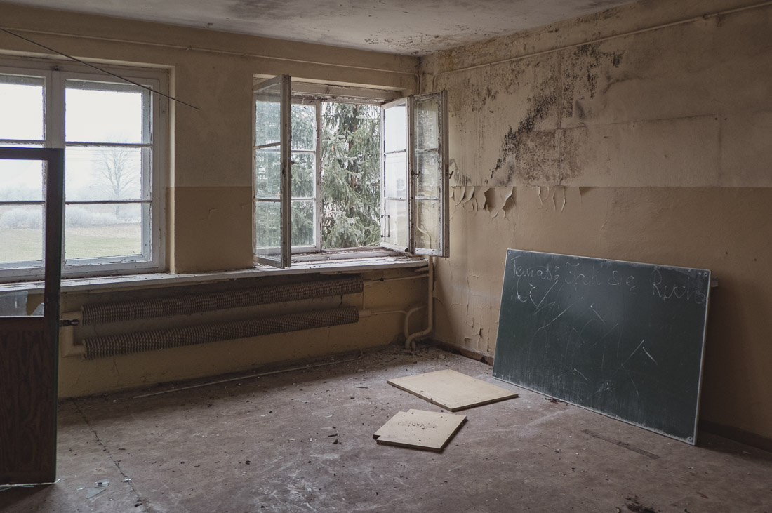 anna rusilko fotografia photography opuszczona szkoła podstawowa abandoned school urbex