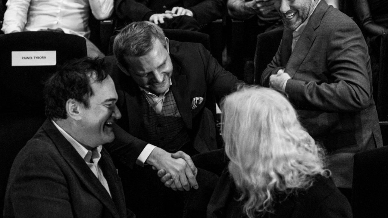Lawrence Sher, Rafał Zawierucha, Quentin Tarantino, Robert Richardson