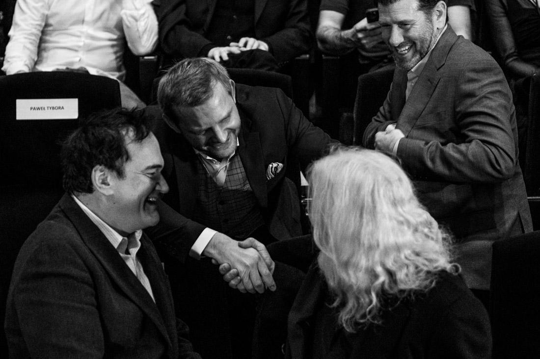55 anna rusilko fotografia photography camerimage toruń film fesival actors cinematographers ckk jordanki Lawrence Sher, Rafał Zawierucha, Quentin Tarantino, Robert Richardson(55)