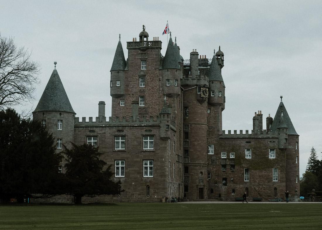 anna rusilko fotografia photography szkocja scotland podróż travel road trip glamis castle