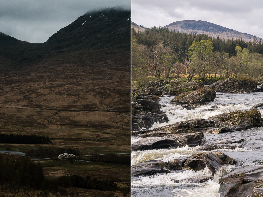 anna rusilko fotografia photography szkocja scotland podróż travel road trip dalmally river orchy