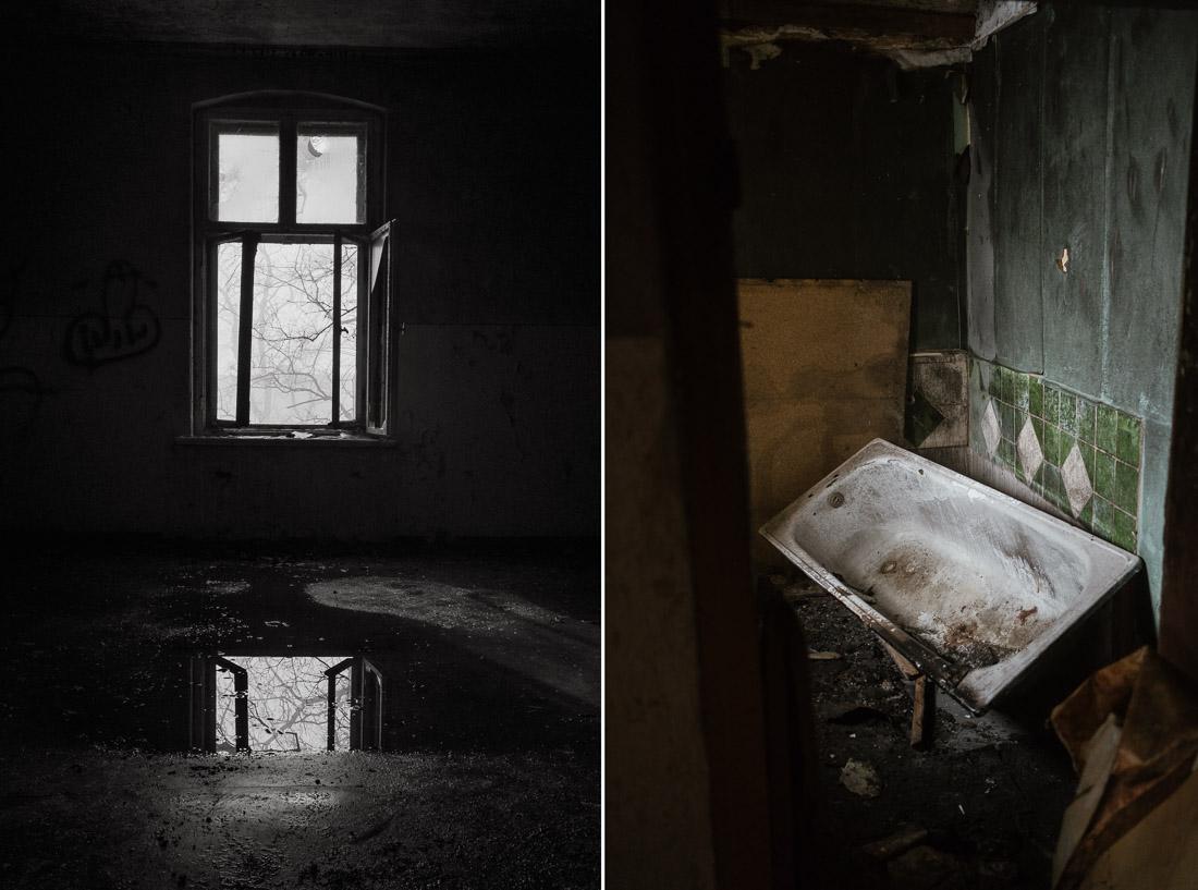 anna rusilko fotografia photography opuszczony dom abandoned house urbex wieś village fog mgła mist